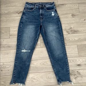 American eagle mom jeans (stretch)
